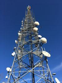 Ponte radio microonde per la raccolta delle immagini videosorveglianza nel Comune di Porto Mantovano