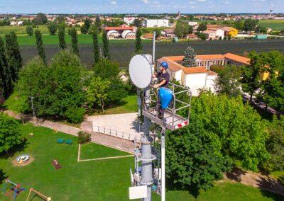 Implementazione Ponti Radio per il Tasporto dei Dati   SITIP TELECOMUNICAZIONI