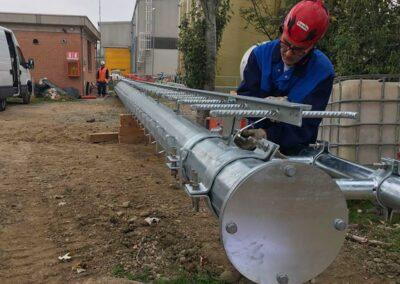 Installazione Infrastruttura Ponte Radio   SITIP TELECOMUNICAZIONI