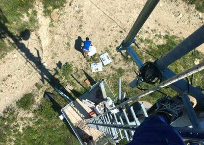 Installazione Ponte Radio   SITIP TELECOMUNICAZIONI
