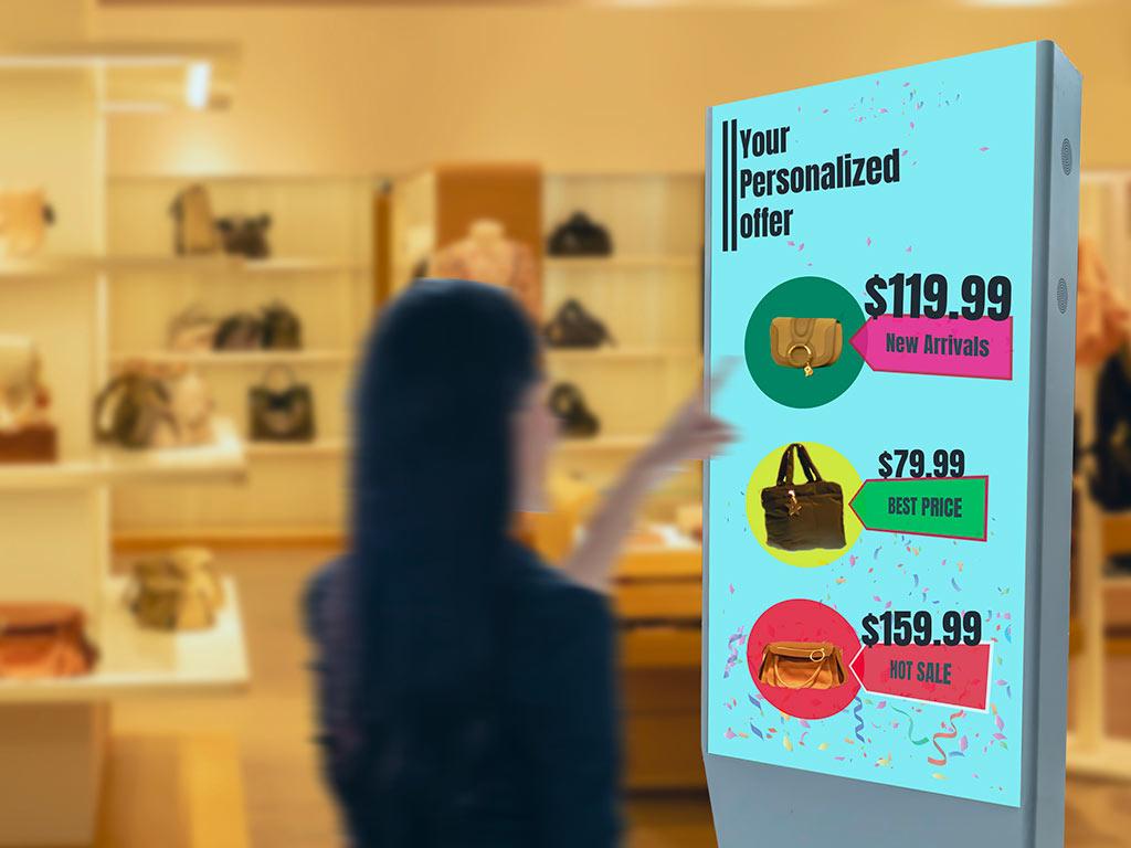 Comunicazione digitale tramite Digital Signage per il settore Retail | SITIP TELECOMUNICAZIONI