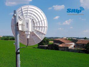 Installazione Ponte Radio – Internet Aziendale per Azienda Agricola Levante, Mantova