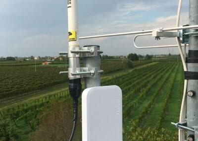 Dettaglio Gateway per monitoraggio in vigna a Rio Saliceto | SITIP TELECOMUNICAZIONI
