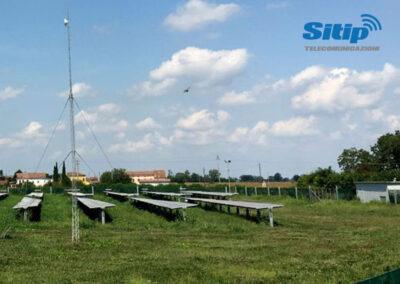 Impianto Fotovoltaico Collegato ad Internet mediante Ponti Radio | SITIP TELECOMUNICAZIONI
