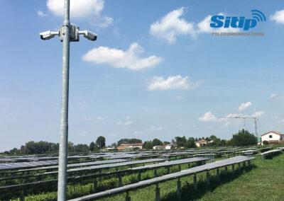 Telecamere Collegate ad Internet per Videosorveglianza di un Impianto Fotovoltaico | SITIP TELECOMUNICAZIONI