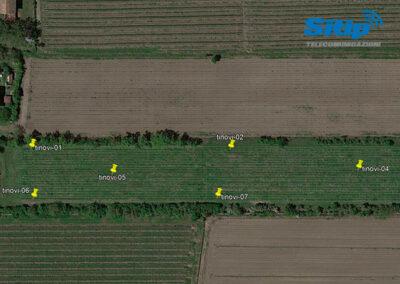 Planimetria IoT in vigna a Rio Saliceto, Reggio Emilia | SITIP TELECOMUNICAZIONI