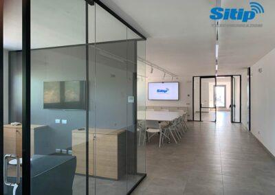 Installazione Monitor in Azienda a Gonzaga | SITIP TELECOMUNICAZIONI