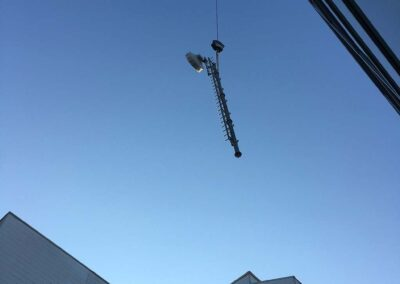 Fase di Installazione Antenna Ponte Radio | SITIP TELECOMUNICAZIONI