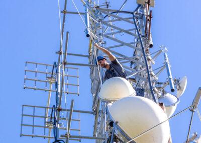 Installazione Ripetitore Ponti Radio   SITIP TELECOMUNICAZIONI